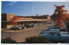Cameron Village in the early days.   http://www.groceteria.com/place/southeast/raleigh/