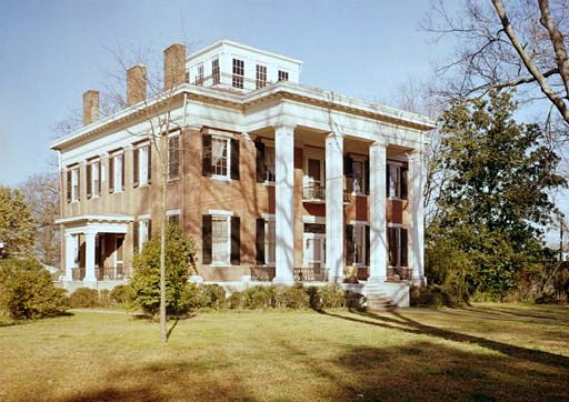 The historic Riverview Mansion, originally known as the Charles McLaren House