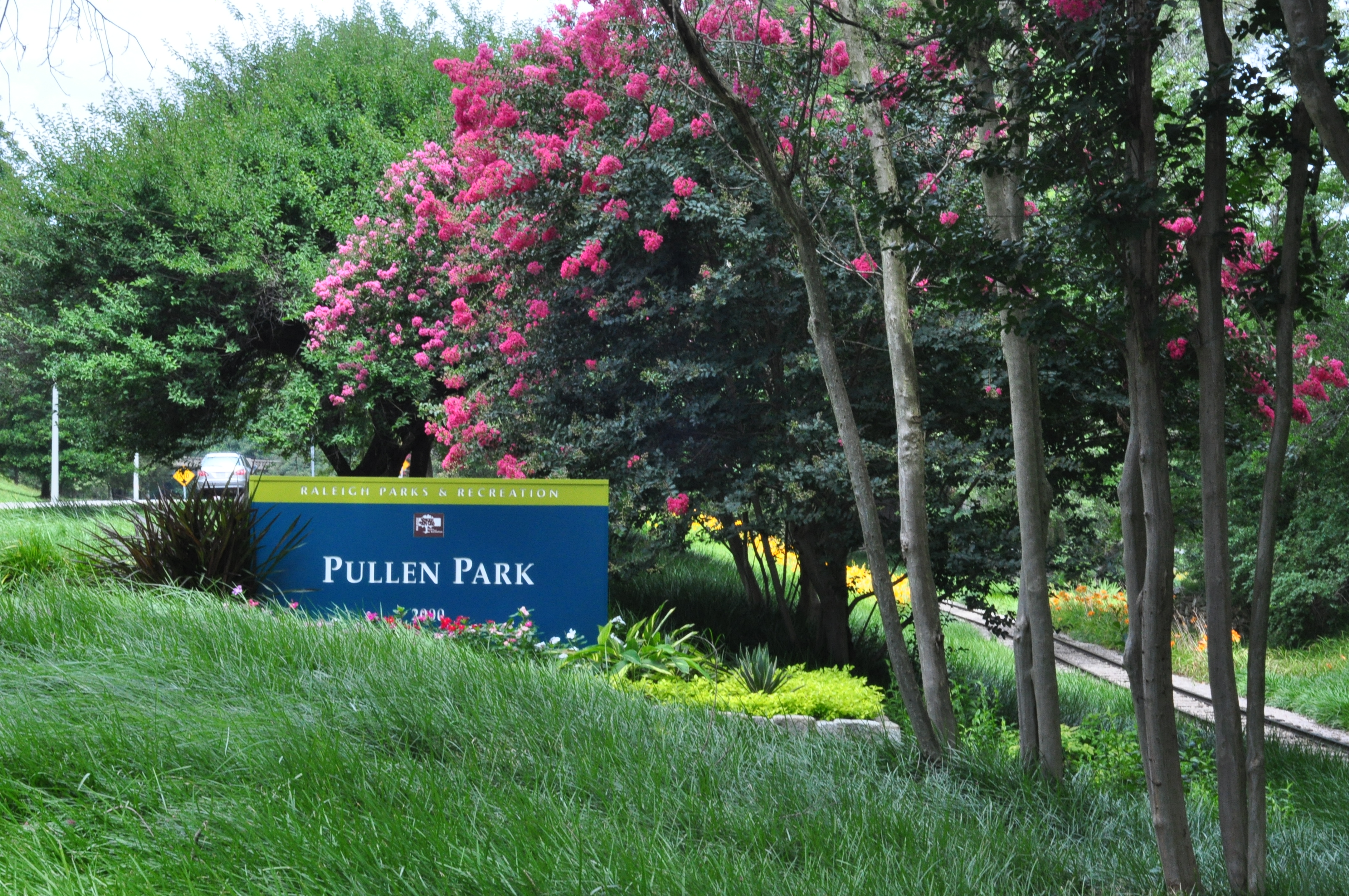 Main Entry to Pullen Park Connected to Western Blvd.
