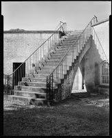 Fort Macon Stairway, 1935