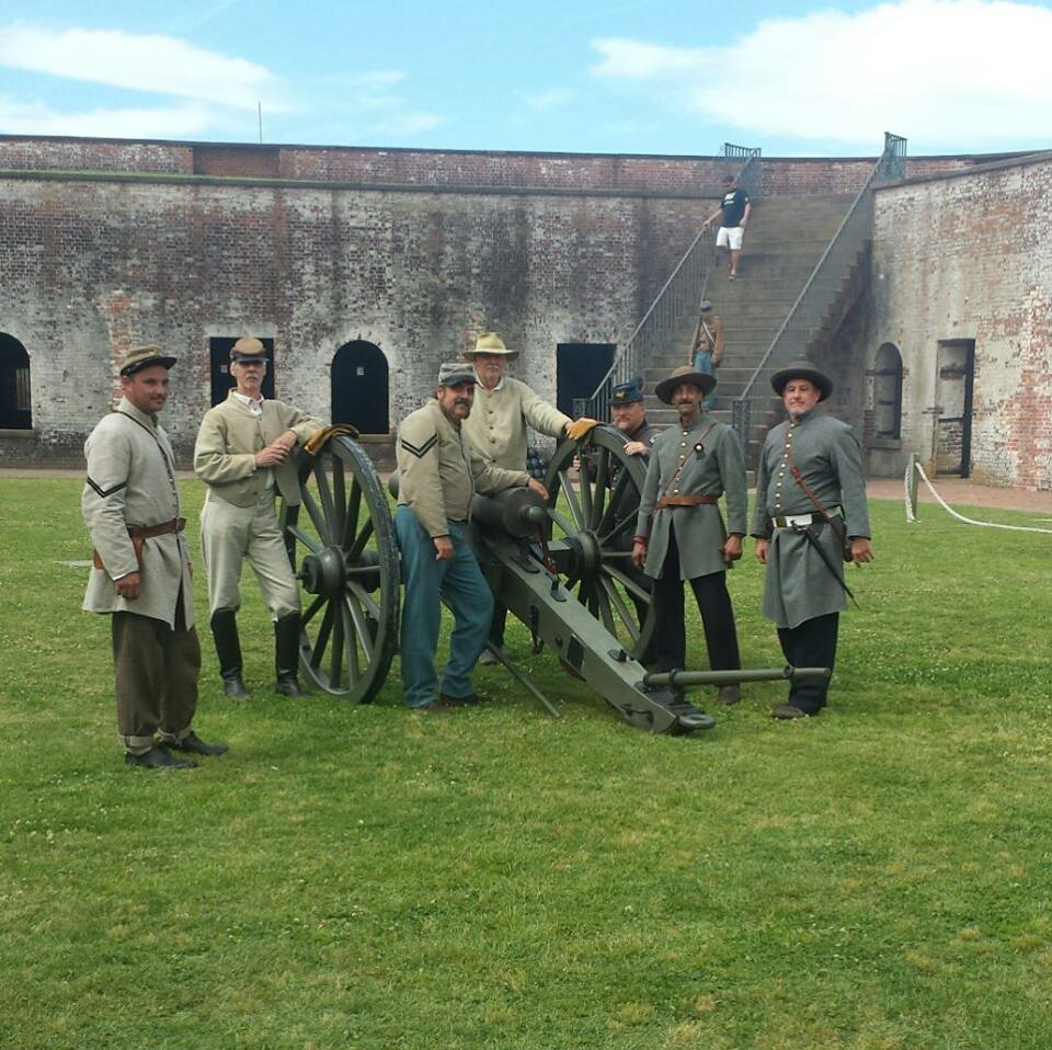 Civil War Reenactment, Fort Macon, 2017