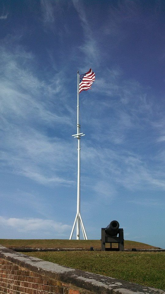 Fort Macon Flag Pole, 2017