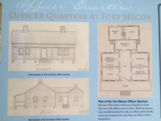 Rendering Fort Macon Officer Quarters