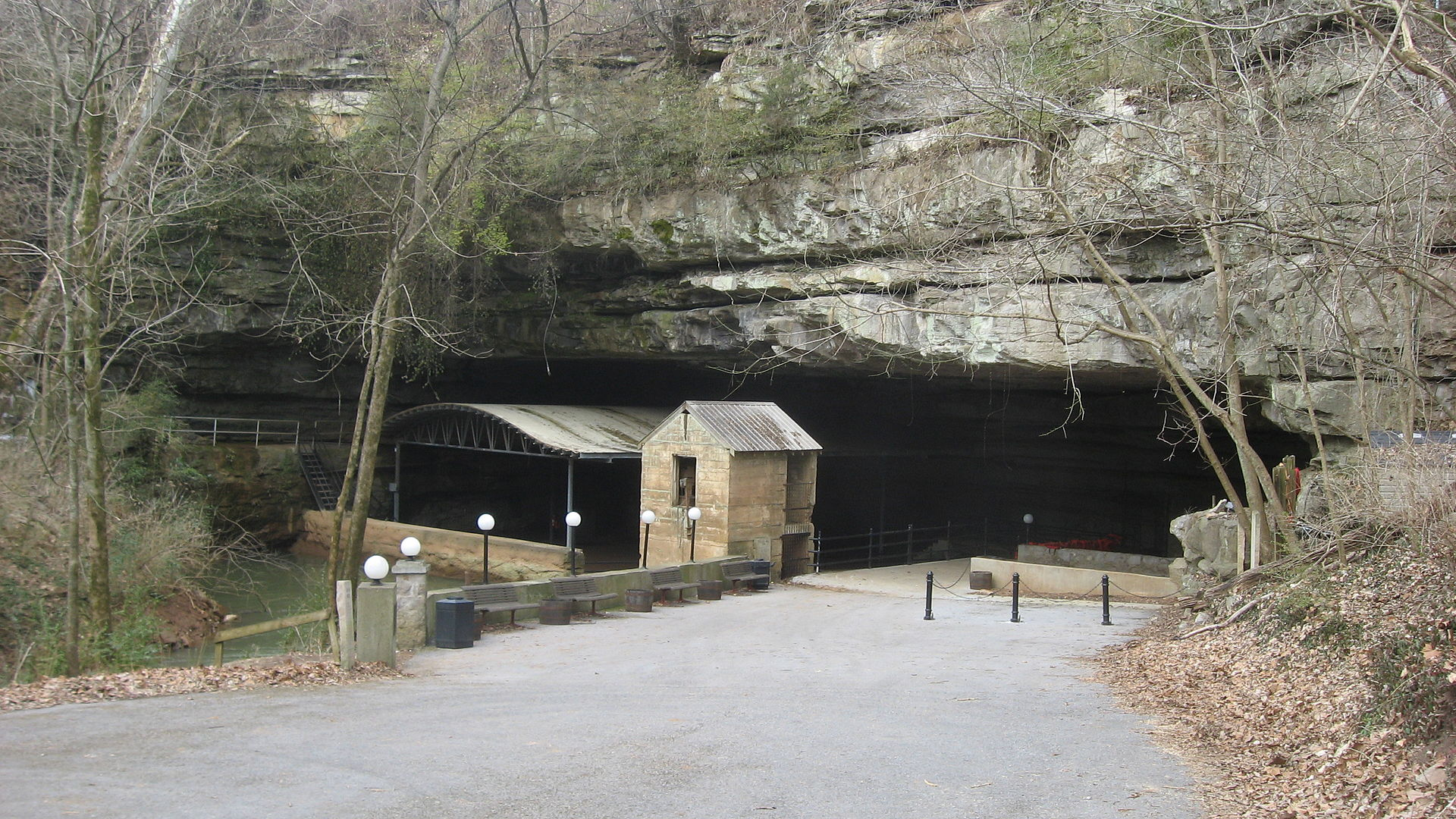 Entrance to Lost River Cave