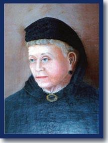 undated portrait of Juliet Hobson