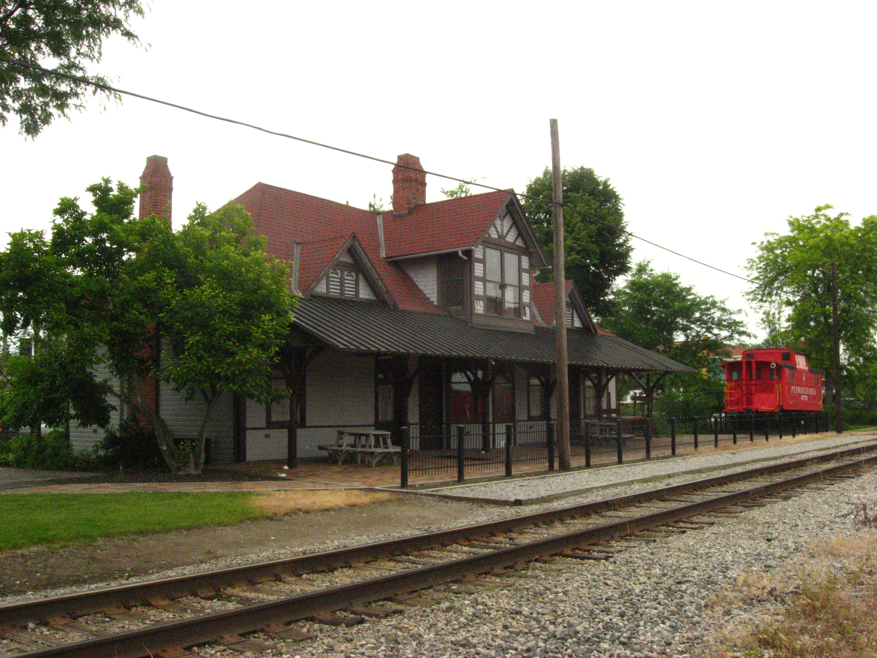 Ada Pennsylvania Station and Railroad Park