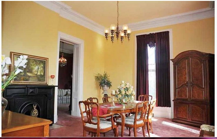 Here is a view of the dining room