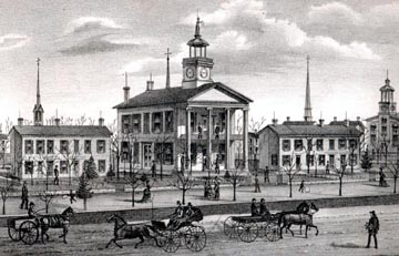 Here is photo of the courthouse in 1875.