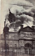 The Butler County Courthouse has experienced several tragedies here is photo of one of the fires.