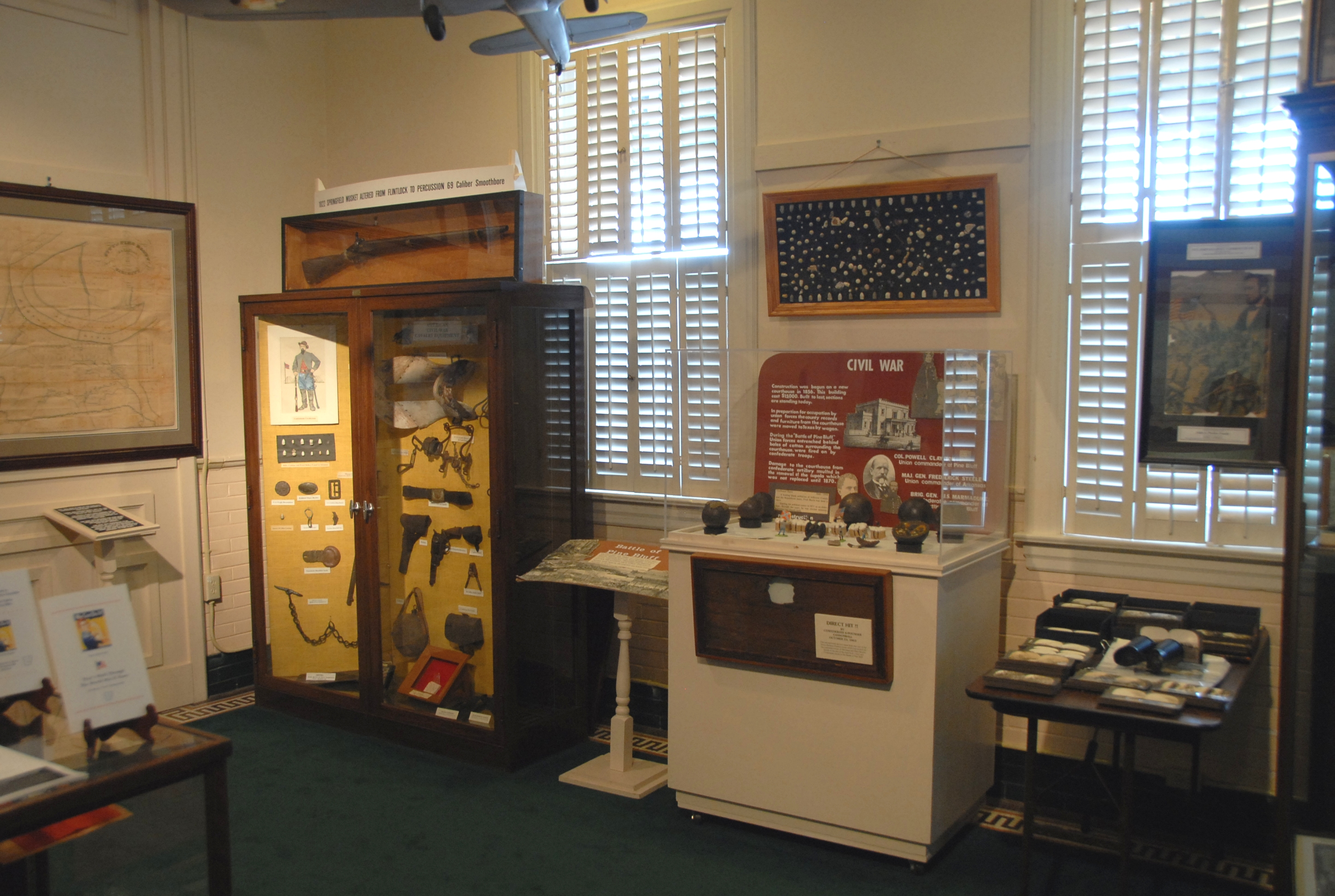 The museum is located in a historic rail depot that was completed in 1906.