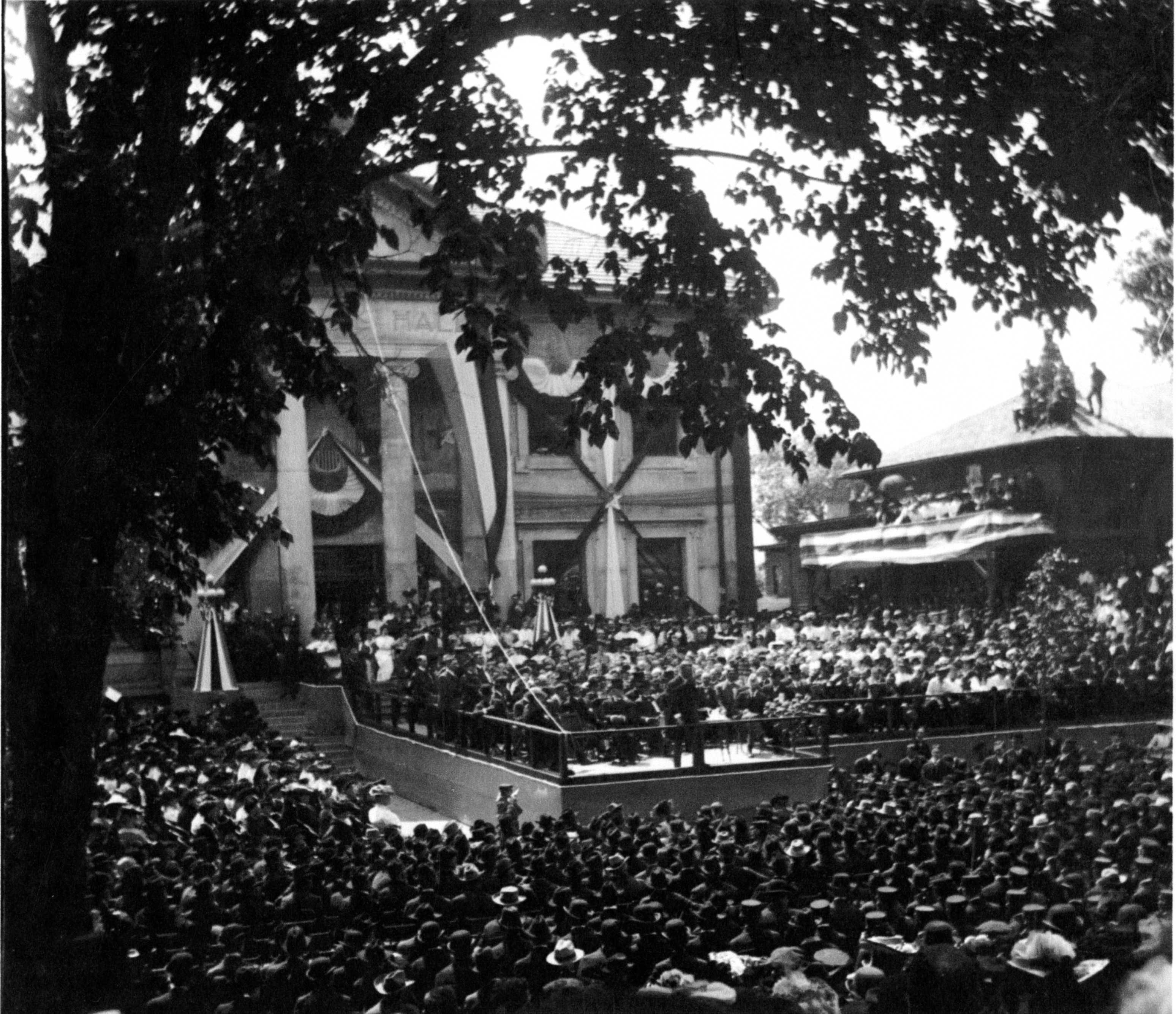 June 1903 Dedication by President T. Roosevelt