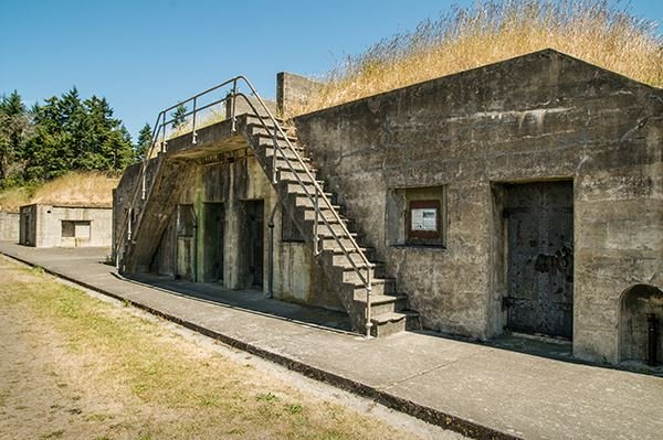 Fort Worden bunker defense