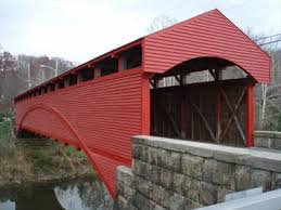 Another angle of the Barrackville Bridge