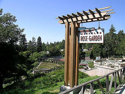 Berkeley Municipal Rose Garden sign (2004)
