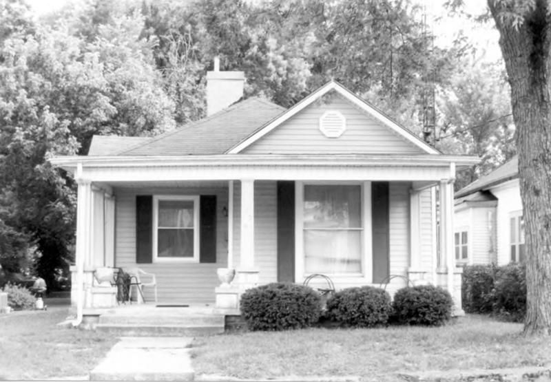 An example of a home in the historic Shake Rag District