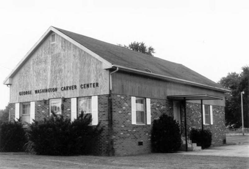George Washington Carver Center in Shake Rag
