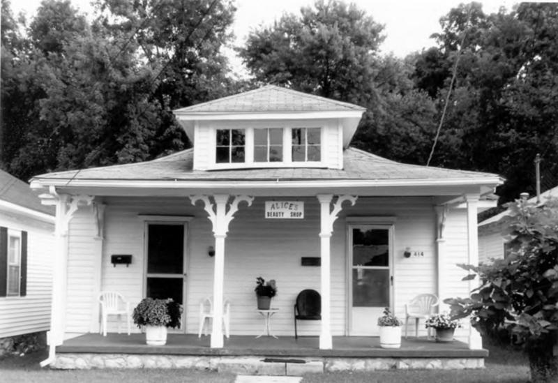 Alice's Beauty Shop. This salon provided services to the District during segregation when such services were denied to blacks elsewhere in Bowling Green.