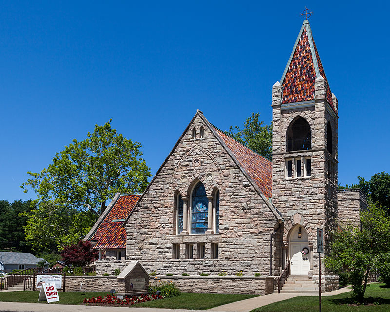 Current photo of Davis Memorial Presbyterian Church
