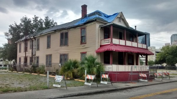 This is a recent photo of The Jackson Rooming House.