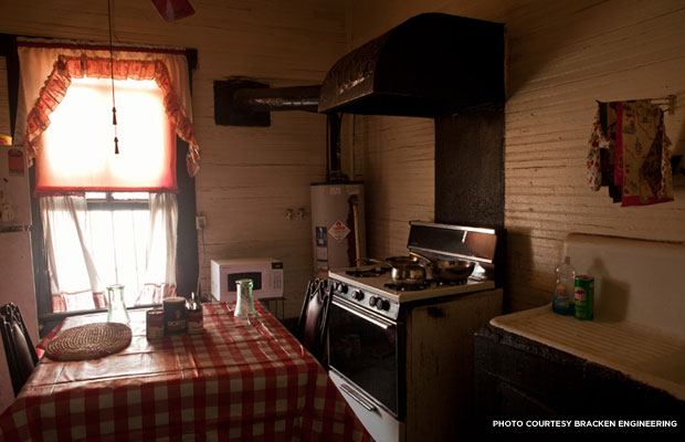 The Jackson Rooming House Kitchen
