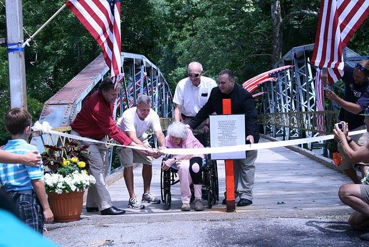 Grand opening of the Steelworkers Historic Greenway
