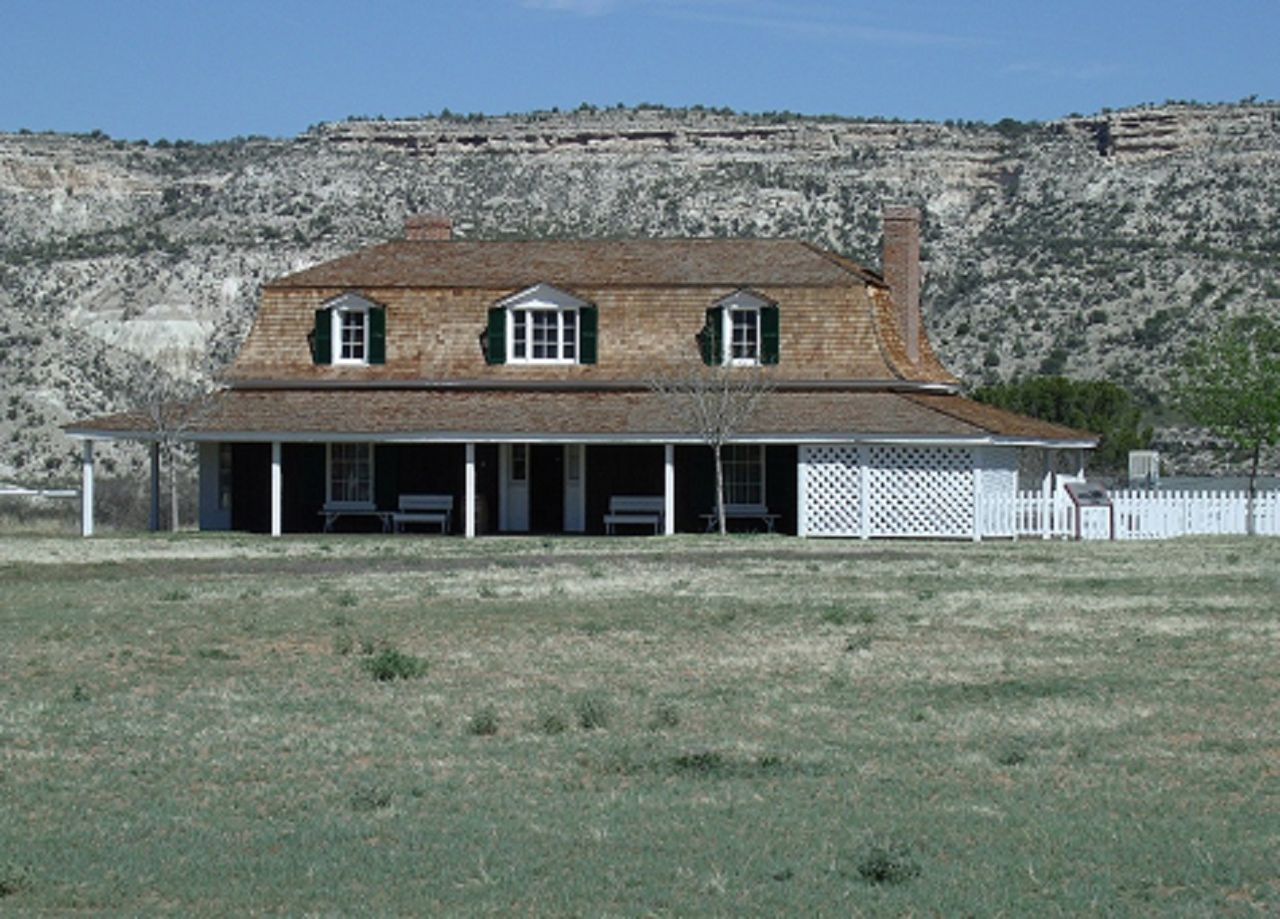Reconstructed Commanding Officers Quarters
