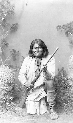 Geronimo in 1887