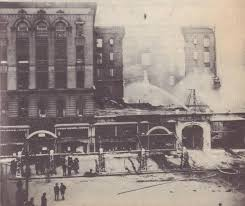 Albion Hotel During 1921 Fire