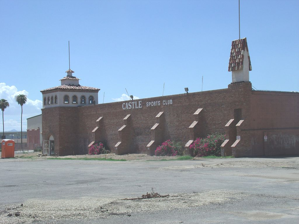 El Cid Castle as it looks after the Sports Club went under