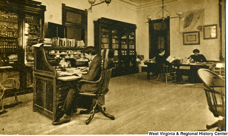 The Horticulture Office of the Agricultural Experiment Station. Photo courtesy the West Virginia and Regional History Center, WVU Libraries.