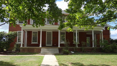 The Vance Farmhouse is a classically-designed farmhouse of the mid-nineteenth century.