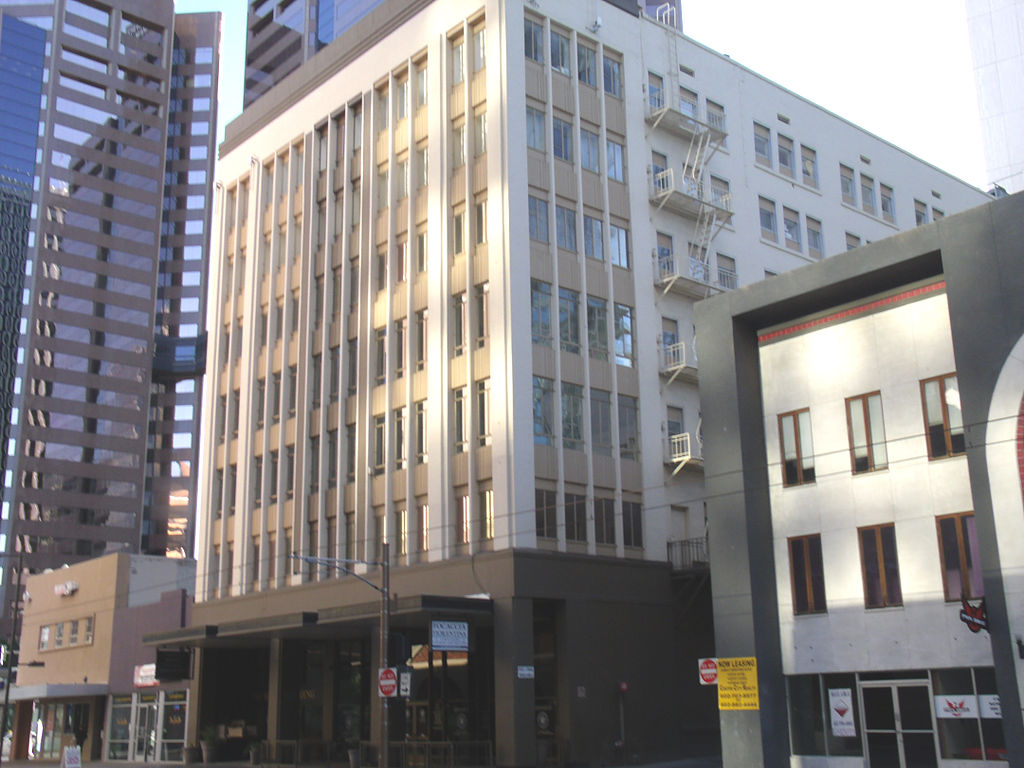 The Heard Building was built in 1920 by John Heard. It was the first high-rise building in the city.