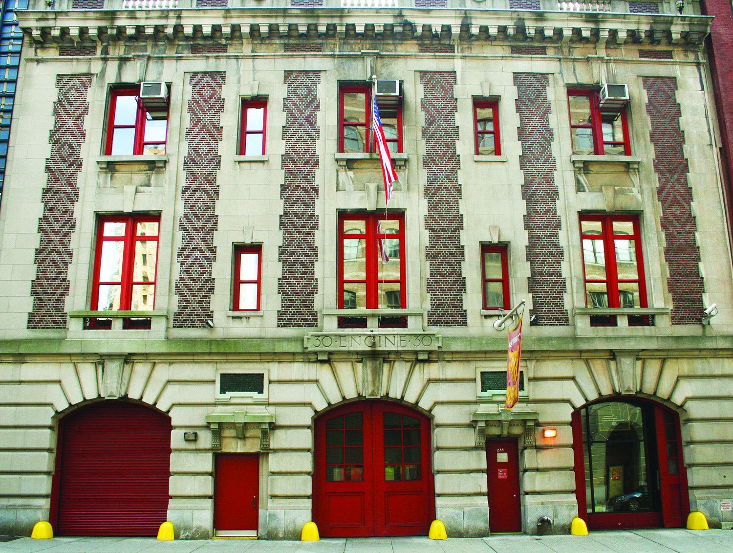 The New York Fire Museum is housed in a 1904 Beaux-Arts style building that was formerly the quarters for Engine Company No. 30. Image obtained from the New York Fire Museum.