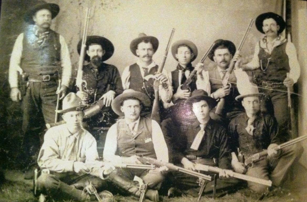 Texas Ranger Frontier Battalion Co. B, 1880