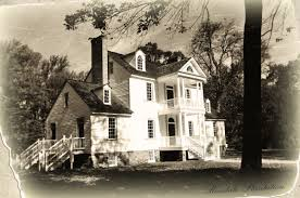 Historical Photo of Rosedale Plantation Exterior, undated