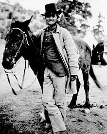 Frederick Wadsworth Loring. This photo was taken two days before his death at the massacre site.