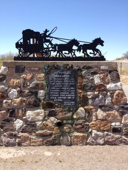 Wickenburg Massacre monument