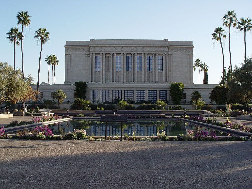 The Mesa Arizona Temple today