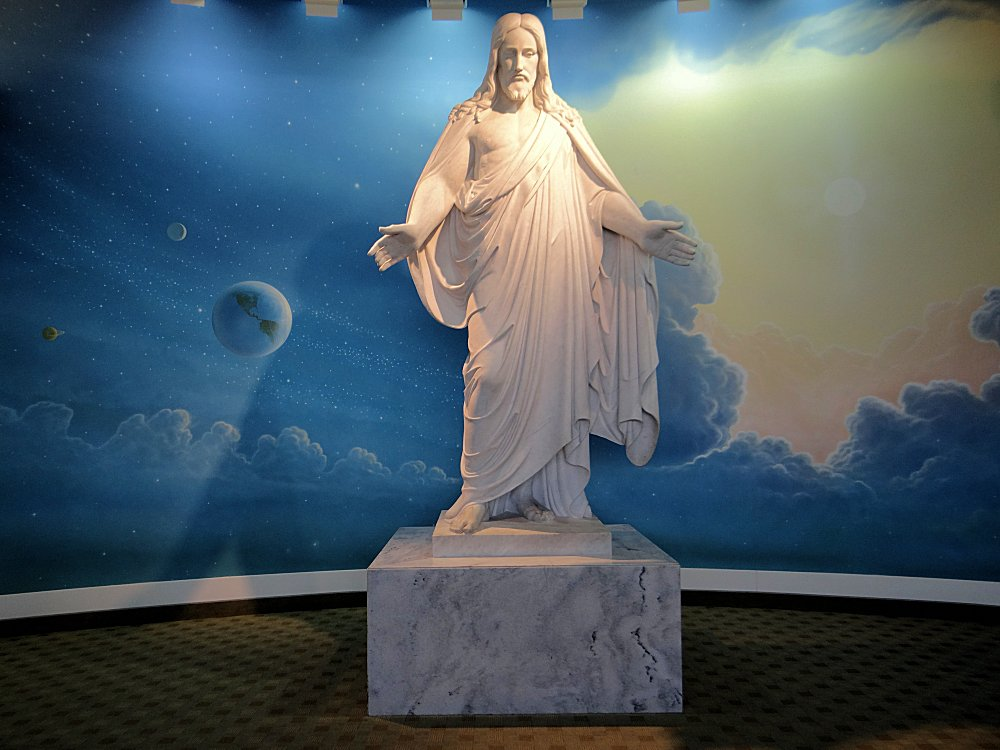 Christus Statue at Mesa Temple