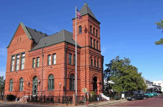 The Jefferson Historical Museum is housed in the former Old U.S. Post Office and Courts Building, which was built in 1888.