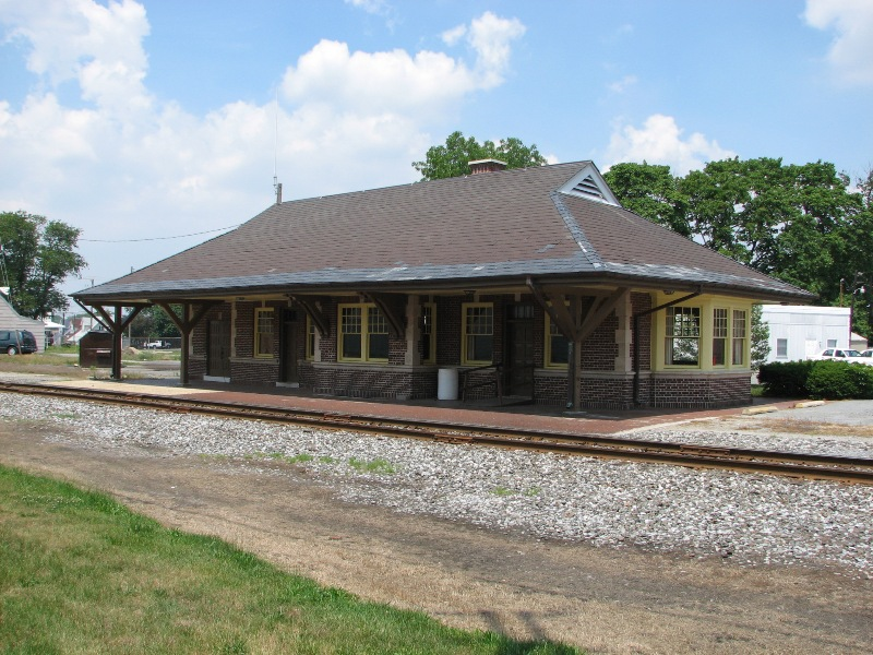 The Old Laurel Train Station.