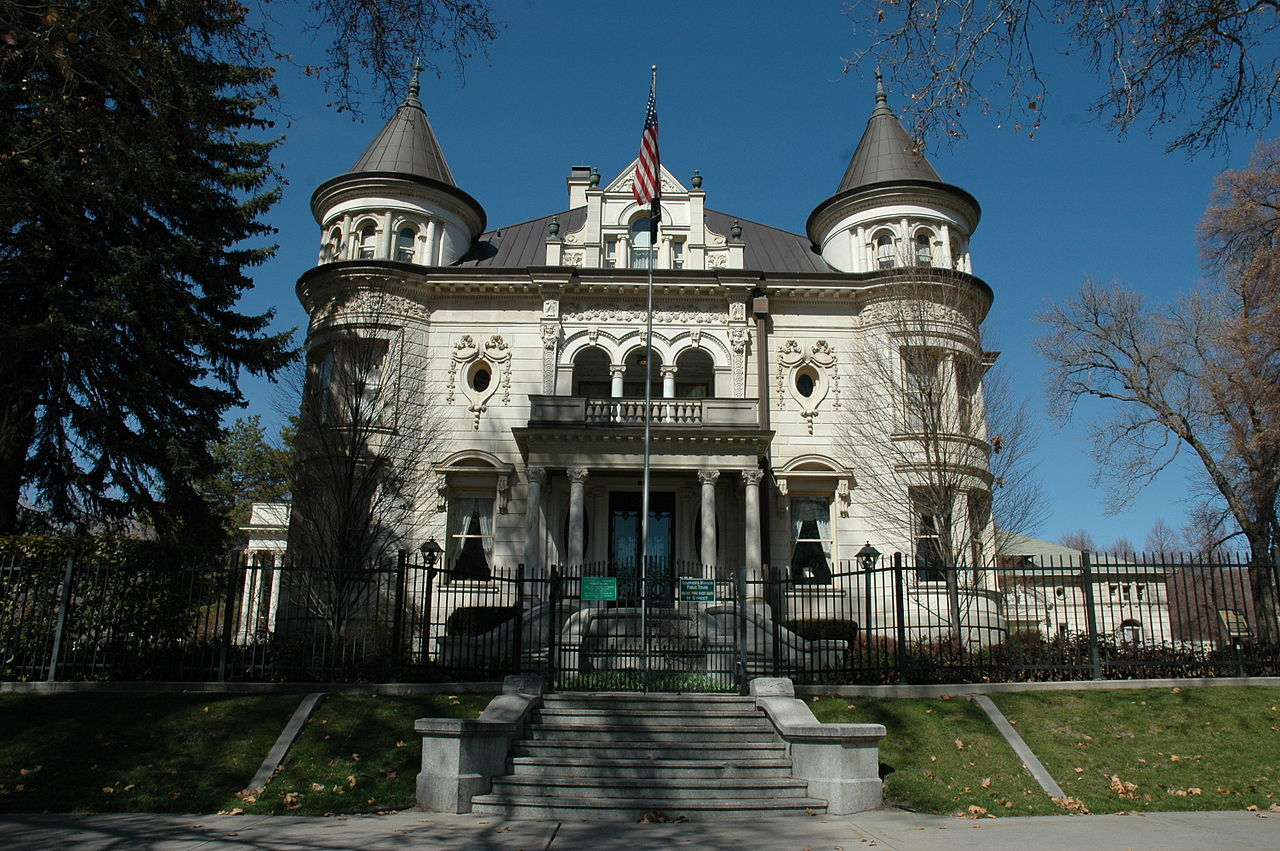 Governor's Mansion/Kearns Mansion as it looks today