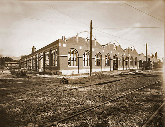 Trolley Square in 1910