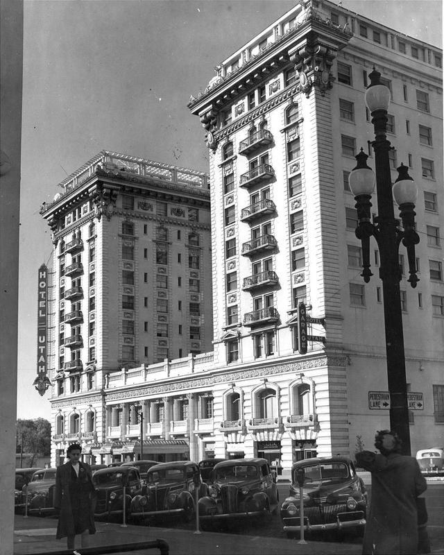 Hotel Utah in 1945