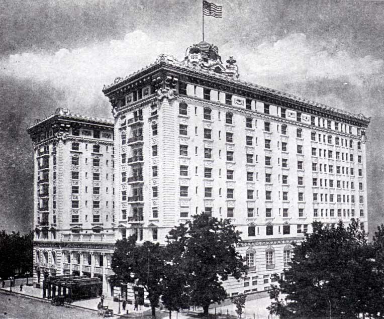 Hotel Utah in 1925