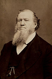 Brigham Young was the second President of the Mormon Church and the first Governor of Utah. He founded several cities aside from Salt Lake and is credited with having organized one of the greatest migrations of the Westward Expansion.