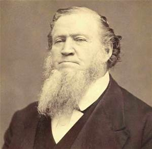 President Brigham Young circa 1870