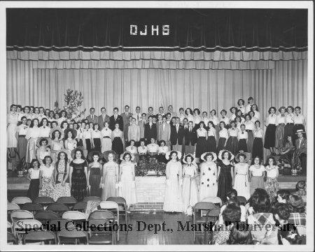 Oley junior high school group, circa 1956