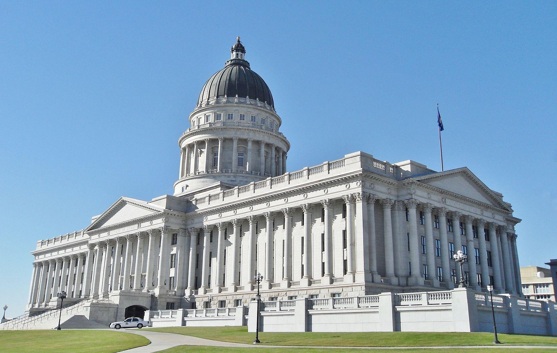 Utah State Capitol today