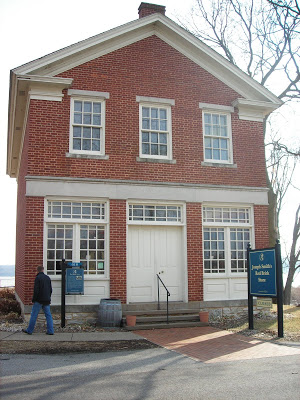 Red Brick Store in Nauvoo, IL, where the Relief Society was organized in 1842.